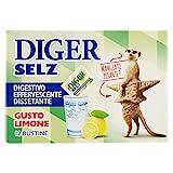 Diger Selz - Digestivo Effervescente, Gusto Limone, 12 bustine - 42 g