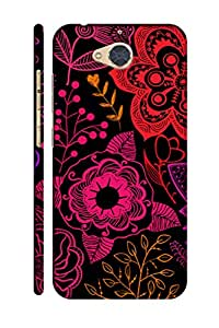 AMAN Darkness Beauty Design 3D Back Cover for Gionee S6 Pro