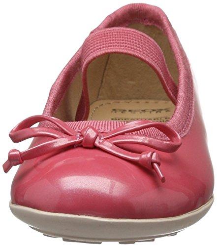 Geox Jr Plie' I, Ballerines Fille Rouge (Lt Coralc7454)