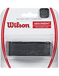 Wilson Bande de Maintien, Micro-Dry Comfort, Bande de Maintien Simple, Unisexe, Noir, 1 Pièce, WRZ4211BK