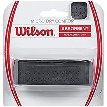 Wilson Micro-Dry Comfort REPL BK - Grip Federer, color negro, talla única
