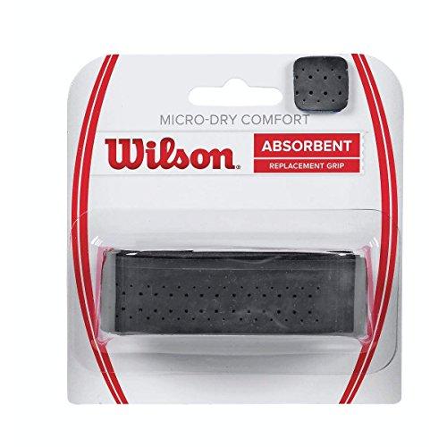 Wilson Unisex Basisgriffband Micro-Dry Comfort, schwarz, 1 Stück, WRZ4211BK