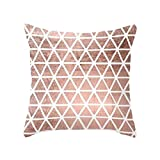 display08 Geometric Striped Flower Throw Pillow Case Cushion Cover Home Sofa Decor - (11#)