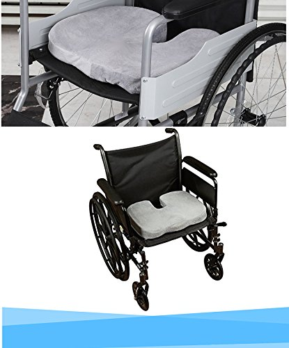 Cojin ortop dico coxis para silla y asiento alivia el for Cojin lumbar silla oficina
