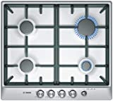 Bosch PCP615M90E hobs - Placa (Integrado, Gas, Acero inoxidable, 50/60 Hz, 220 - 240 V)