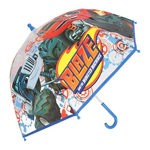 Blaze and the Monster Machines Kinder Regenschirm (Einheitsgröße) (Blau)