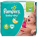 Pampers Baby Dry Schicht 15+ kg Größe 634teilig