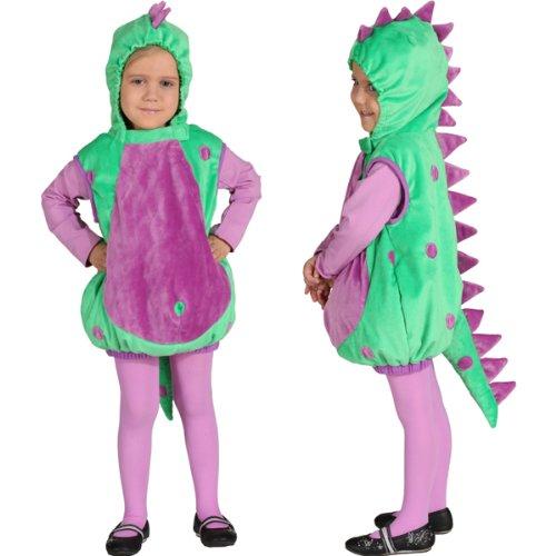 Kleinkind-Kostüm Weste Dinosaurier, Gr. - Für Kleinkind Dinosaurier-kostüm
