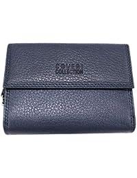 Coveri Collection Portafoglio donna pelle con portamonete portafoto 217-208  blu 6567e03511c9