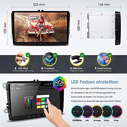 NEOTONE-WRX-990A-Autoradio-fr-VW-Skoda-Seat-Navi-mit-Europakarten-2019-9-Zoll-DAB-Untersttzung-USB-4K-Ultra-HD-Video-2GB-Arbeitsspeicher-WLAN-Bluetooth-MirrorLink-RDS