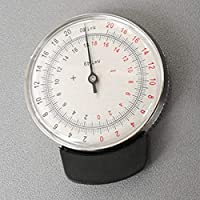 Lente óptica portátil Radian Clock Gauge Apparatus Lens Degree Tester Dispositivo de prueba mecánica Eyeglasses Accessories
