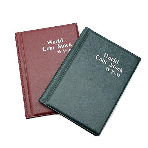 Beito Neue Modische 120Geld Penny Taschen-Halter mit Taschen Album Buch, Grün