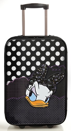 Daisy Trolley Daiquiri Disney-Femme Noir Noir 36x51x16.5