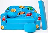 Kindersofa Spielsofa Minicouch aus Schaum Kindersessel Kissen Matratze Farbwahl (17)