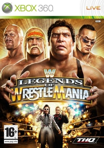 THQ WWE Legends of Wrestlemania, Xbox 360 - Juego (Xbox 360)