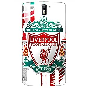 Jugaaduu Liverpool Back Cover Case For OnePlus One