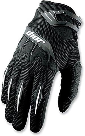3330-3087 - Thor Spectrum S15 Motocross Gloves M Black