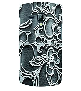 ColourCraft Pattern Back Case Cover for SAMSUNG GALAXY S DUOS S7562