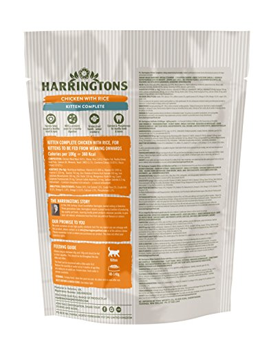 HARRINGTONS Kitten Food Complete 425 g, Pack of 5 7