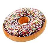 Nunubee Zierkissen Dekorative Donuts Kopfkissen PP Baumwolle Sofakissen Dekokissen Schaumstoff Gefüllt Spielzeug