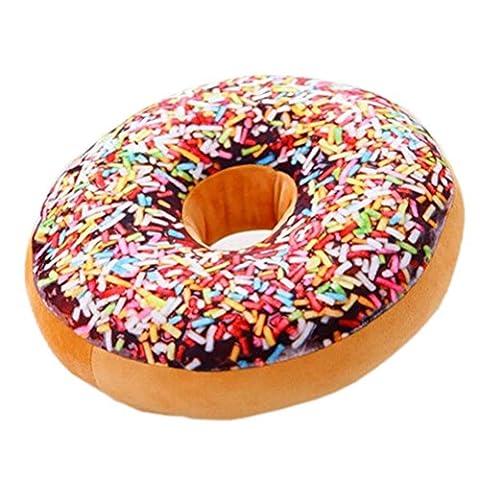 Nunubee Mignon Coussins en Forme de Donuts Coussins de Chaise