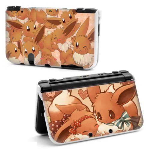 cartoon-pikachu-pokemon-evee-hard-protective-case-cover-for-nintendo-new-style-3ds-xl