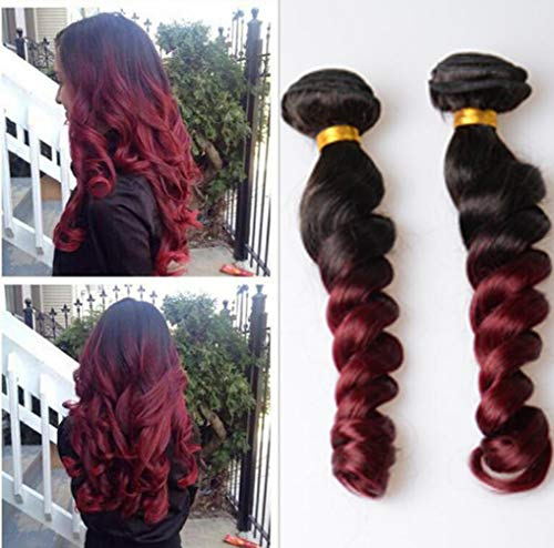 YZ-YUAN Haarteile perücke Brasilianisches Körper-Wellen-Jungfrau-Haar 3 bündelt menschliches Haar 100% Remy-Haar-Erweiterungen natürliche Farbe,141618inch (Remy-jungfrau-haar-erweiterungen)