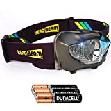 HeroBeam LED Head Torch - Best Pocket-Sized Headlamp for Running, Dog Walking, Fishing