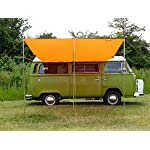 DEBUS Campervan Sun Canopy Awning - Brilliant Orange 4