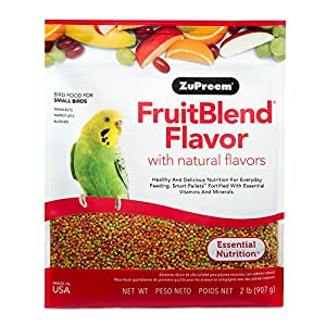 Zupreem Fruit Blend for Small Birds, 907 g