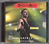 DEPECHE MODE Promo Spirit Tour Live In Glasgow 2017 CD/DVD set