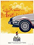 BACK TO THE FUTURE – Michael J Fox – Imported Movie Wall Poster Print – 30CM X 43CM Brand New