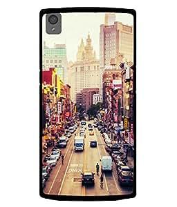 PrintVisa Designer Back Case Cover for OnePlus X :: One Plus X (dream city lifestyle status level classy)