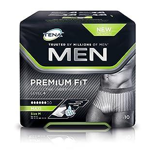 Tena For Men Premium Fit Level 4 Medium Pack of 10