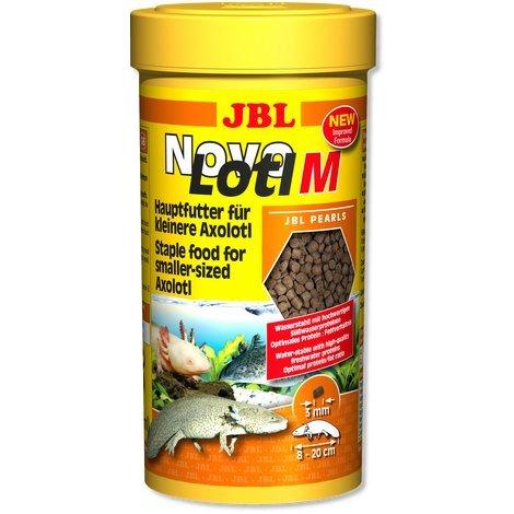 JBL - NovoLotl M - 250 ml - Axolotl Lotl Amphibien Futter Perlen