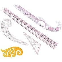 Itian Marca DIY ropa medición francés Curva Patrón clasificación reglas patrón estilo diseño Craft Costura Herramienta