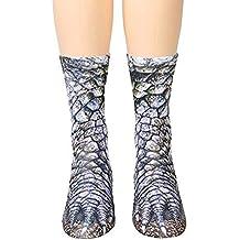 YHONG-Socks Adulto Unisex Gatito Bonito Cat Paw Calcetines, Animal Paw 3D Impresión de