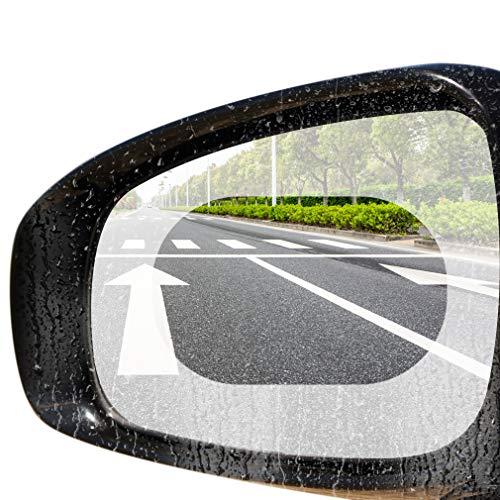 LucaSng lámina protectora del espejo retrovisor del coche,Antivaho, resistente al agua, resistente...