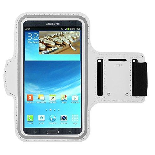 Blanco al aire libre Correr Deporte Gimnasio brazalete funda para Samsung Galaxy S8Plus/Nota 8/LG lápiz capacitivo 3/LG G6/P6/LG K4K8K10/Motorola Moto G5S Plus/E4Plus/Z2play/BLU Vivo 8/R2/Wileyfox Swift 2X/Huawei P10Plus