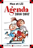 Agenda scolaire Max et Lili 2016-2017