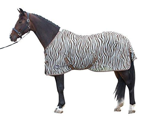 Harry\'s Horse 32205026-205cm Fliegendecke Mesh, Standardmäßig mit Gurten, L, Zebra Plume