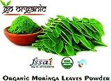 Best Moringa Powder - Go Organic Moringa Leaf Powder for good health Review