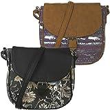 Animal Womens Cori Adjustable Strap Shoulder Cross Body Bag Handbag