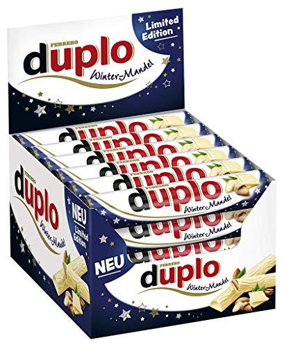 Ferrero Duplo Winter-Mandel Limited Edition 40er Pack (40 x 18,2g Riegel)