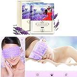 Masque pour Œil Yeux SPA, Malloom 1 Set 10 pcs Goggles Steam Soulager la fatigue des yeux (Violet)