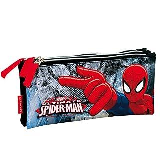 Portatodo Spider-Man Marvel Dark triple