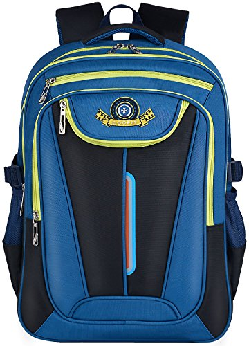 COOFIT Schulranzen Jungen Schulrucksack Jungen Teenager Rucksacke Jungen für Schüler Schultasche Tasche