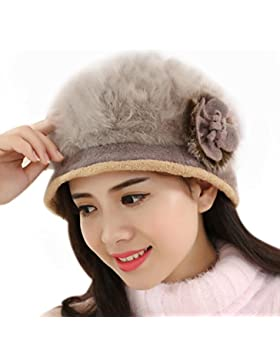 Tefamore Sombrero de las Mujeres Invierno de Caliente Gorro de Suave de Moda de elegante