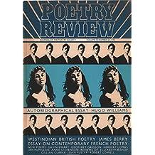 Poetry review n° 73