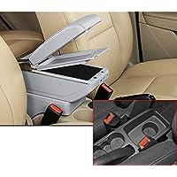 Para 2009-2017 F ord Fiesta 3 MK7 Avanzado Auto Apoyabrazos Consola Central Reposabrazos Accesorios
